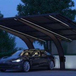 Carport mit Fotovoltaik