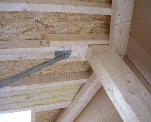 Holzriegelkonstruktion durch Ecowork