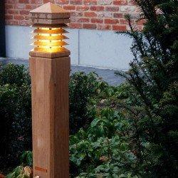 Gartenleuchte passend für den exklusiven Naturgarten