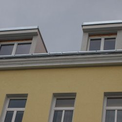 Errichten von Gaupen im Dachgedschßausbau