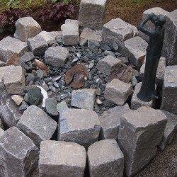 Möglichkeiten der Verwertung von Pflastersteinen