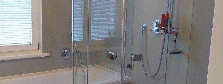 Badezimmersanierung - Epoxiharz statt Fliesen