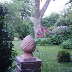 Terracotta macht sich gut im Country Garden