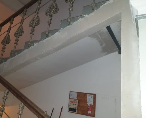 Sicherung Treppenhaus