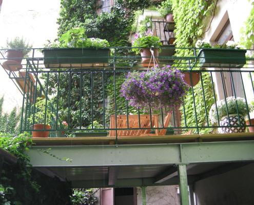 Wohnraumerweiterung in den Innenhof