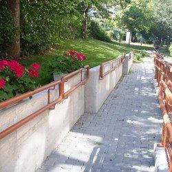 Barrierefreier Zugang in den Garten