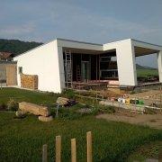 Massivholzbau Einfamilienhaus Klein Pöchlarn