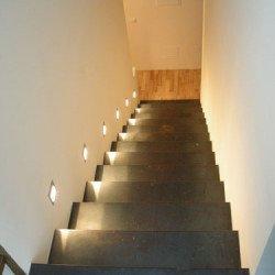 Treppenaufgang Einfamilienhaus