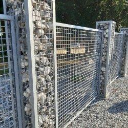 Einfriedung Gitterkonstruktion