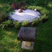 Asiatisches Garteneck in der Gartengestaltung