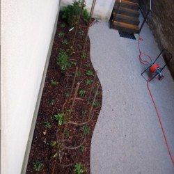 Cortenstahl in der Gartengestaltung