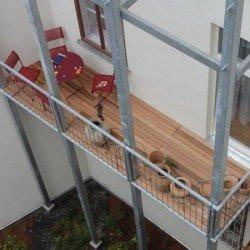 Red Cedar und thermobehandelte Holzbeläge