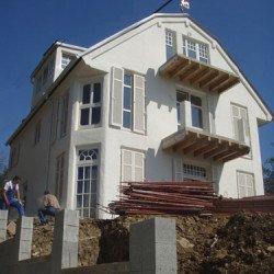 Villa - Lehmbau im italiensichen Stil