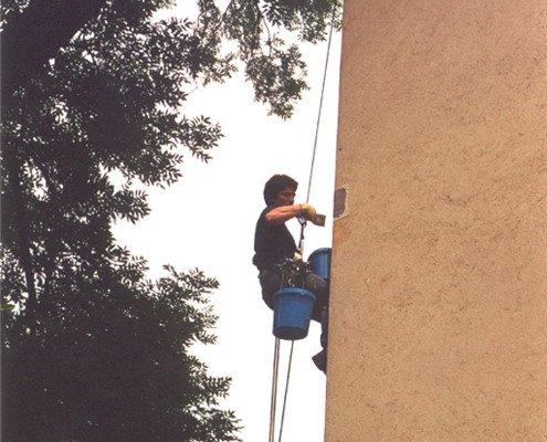 Fassadensanierung mit Seiltechnik