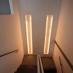 Beleuchtungskonzept für das Wohnen auf mehreren Ebenen