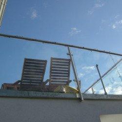 Terrasse mit Blick vom Schafberg in Richtungn Hernals