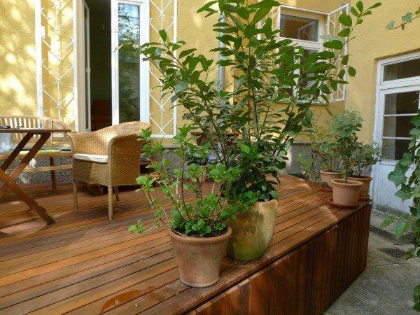 Innenhofbegrünung und Terrassengestaltung