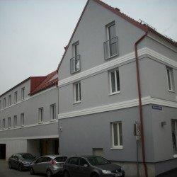 Wohnraumschaffung durch Aufstockung und Dachgeschossausbau