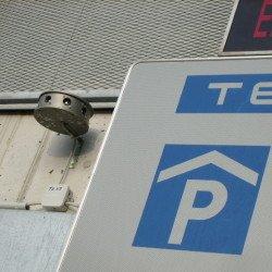Ultraschall Schallgeber zum Taubenschutz in Garagen