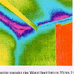 Infrarotaufnahme zur Erkennung der Wärmebrücke