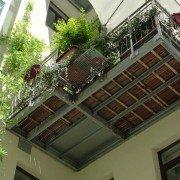 Balkone im Innenhof