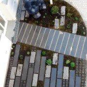 Innenhofgestaltung - Pflastern als Kunst