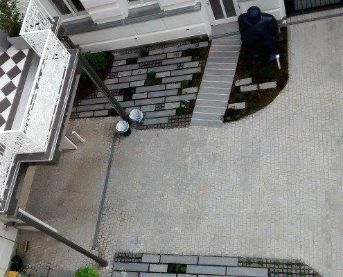 Intensive Dachbegrünung als Altwiener Innenhof
